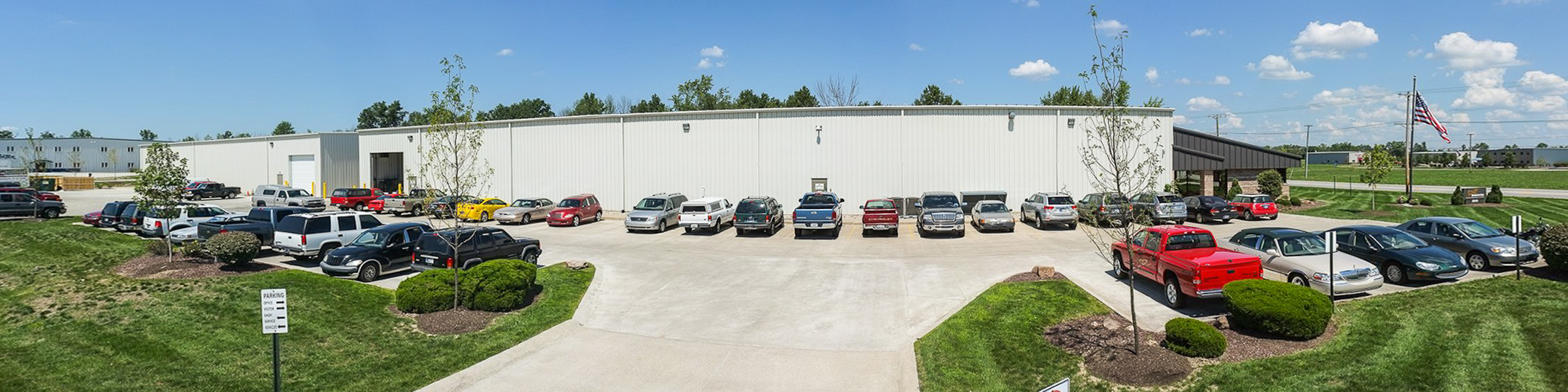 CNC Industries expansion exterior pano