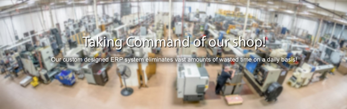 CNC Industries Command ERP