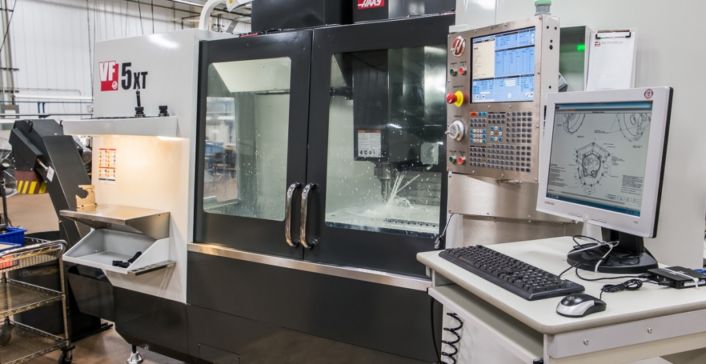 CNC Industries new Haas VF5