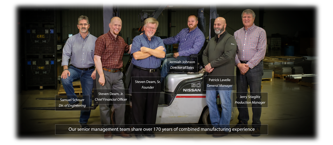 CNC Industries Senior Management