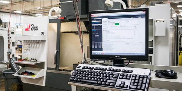 CNC Industries advanced data management system