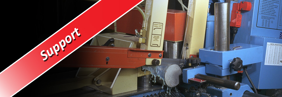 CNC Industries sawing machine